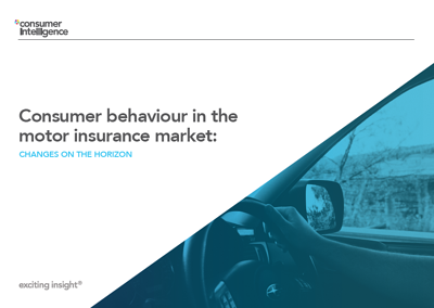 COnsumer beahviour in the motor insrance market