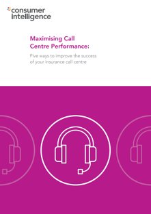 Call Centre Performance Whitepaper